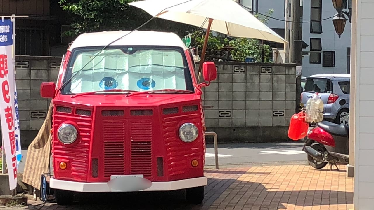 移動販売車キャラントカフェ